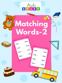 Match The Words 4 Letter Word Best Letter Matching Workbook