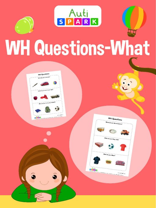 WH Questions: WHAT Workbook