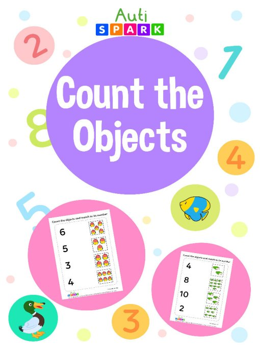 Count And Match Matching Workbook 01