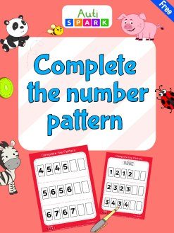 35 Complete The Number Pattern