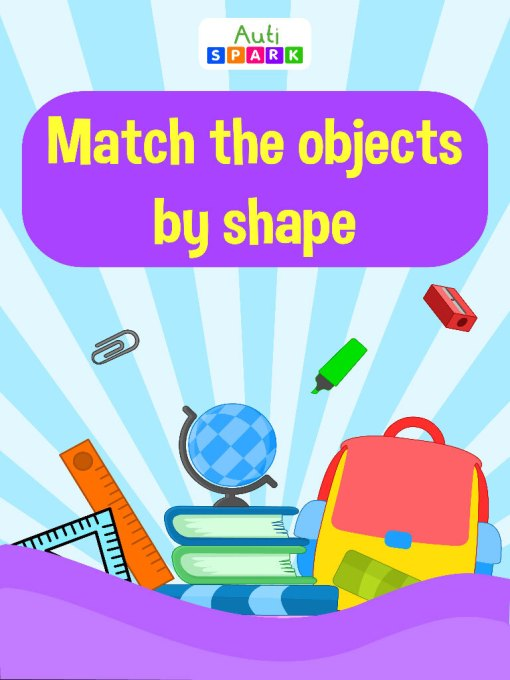 Match The Objects By Shapes