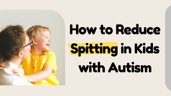 How to reduce spitting in kids with autism
