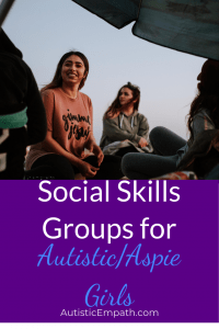 Social skills groups for autistic and aspie girls