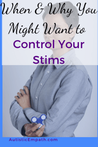 When and why you might want to control your stims