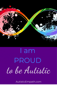 Proud to be autistic 2020 pin