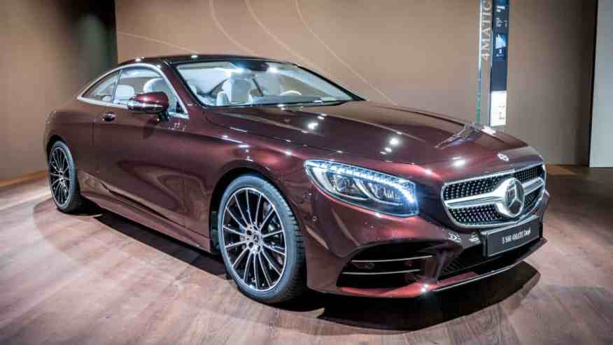 LUXURY CAR MERCEDES S CLASS COUPE