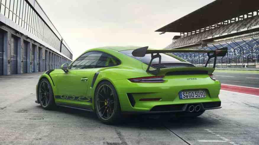 SPORTS CAR PORSCHE 911 GT3 RS
