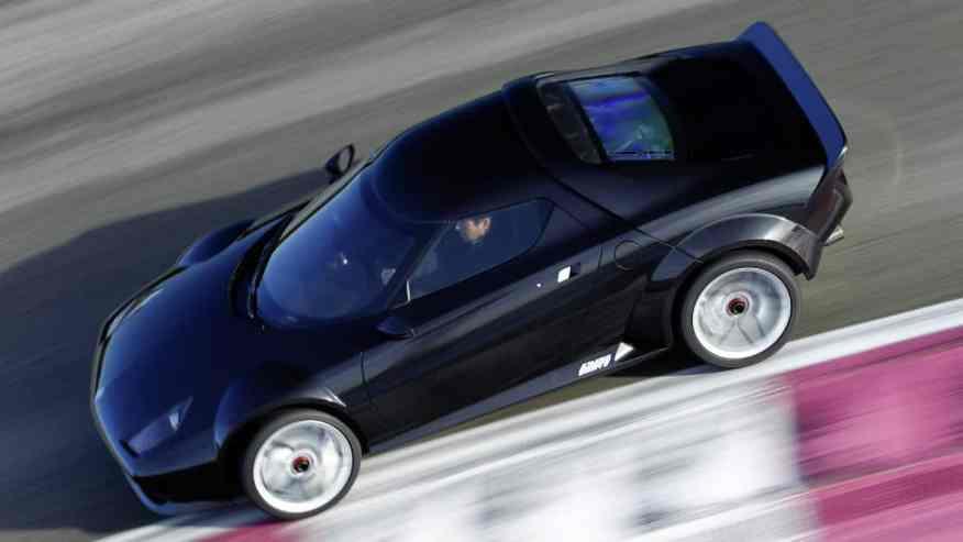 RETRO SPORTS CAR NEW STRATOS