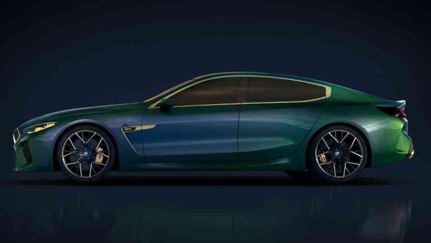 SPORTS CAR BMW M8 GRAN COUPE