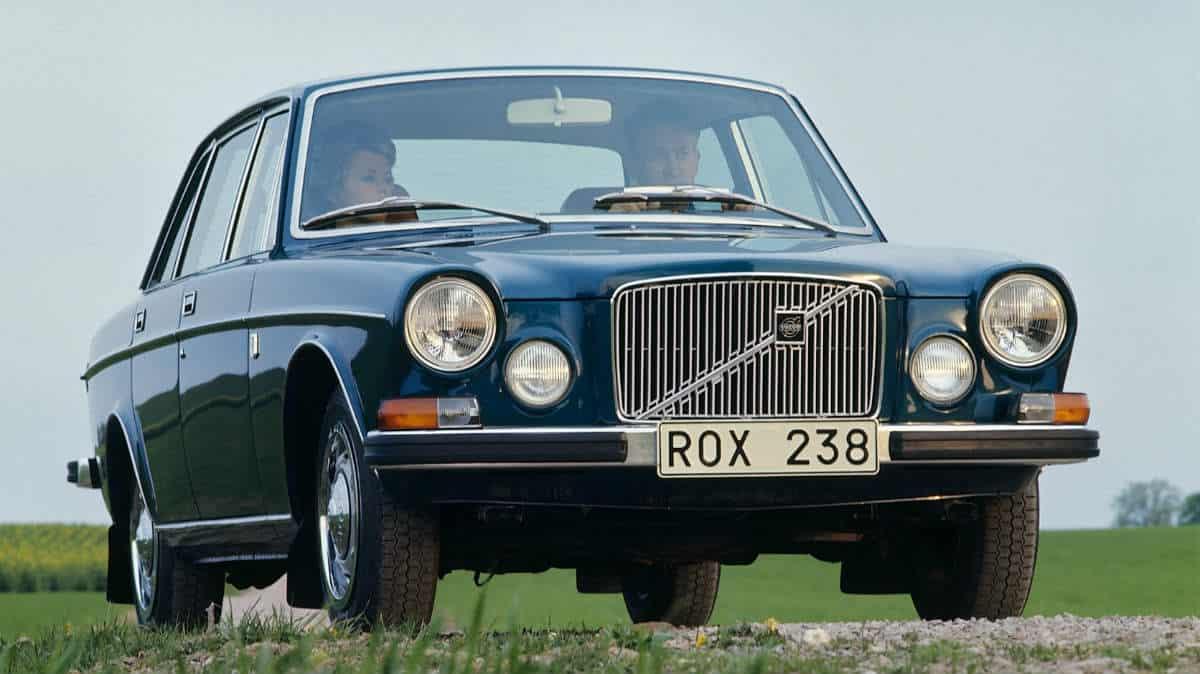CLASSIC CAR VOLVO 164