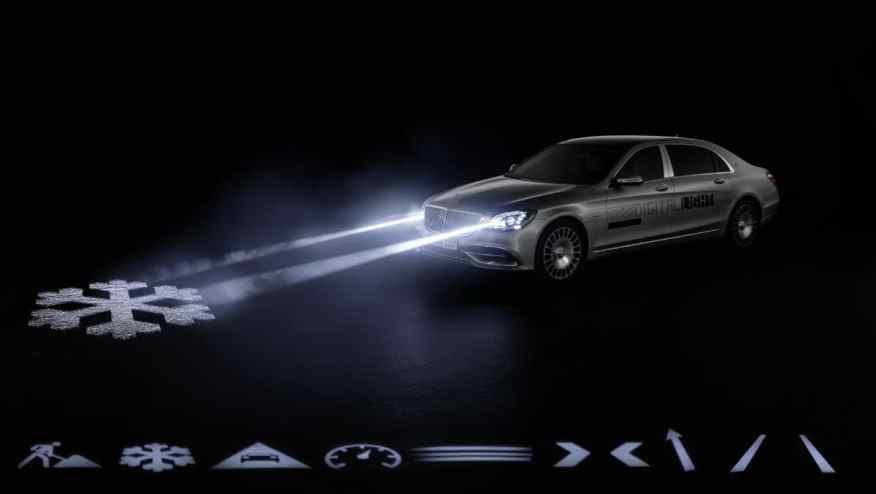 Mercedes Digital Lights