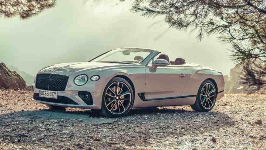 LUXURY SPORTS CAR BENTLEY CONTINENTAL GT CONVERTIBLE