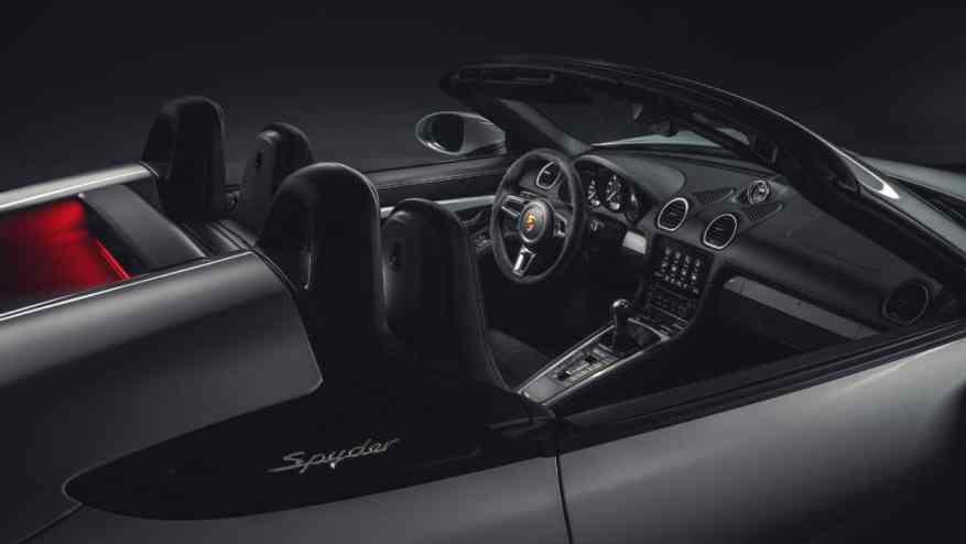 SPORTS CAR PORSCHE 718 SPYDER