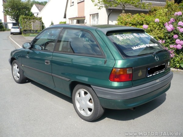 1996 Opel Astra f – pictures, information and specs - Auto ...