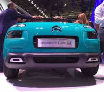 Bild 2: Concept Car Citroën Cactus M