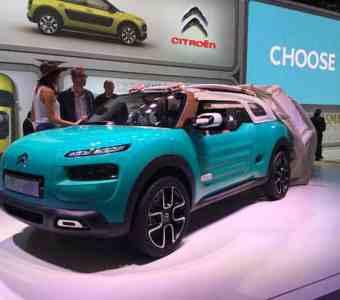 Bild 14: Concept Car Citroën Cactus M