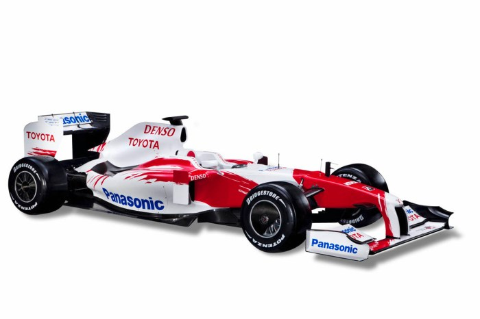 essai voiture formule 1