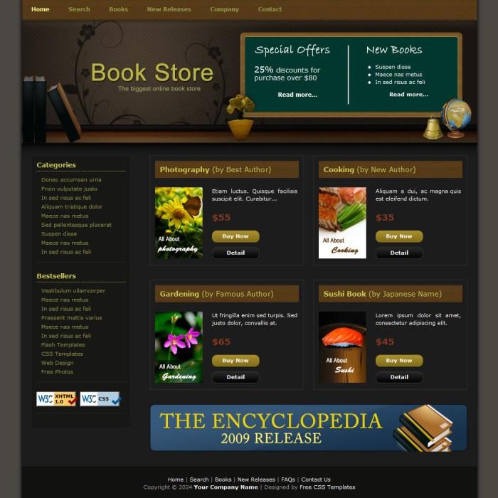 html website templates