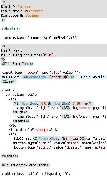 balise script html