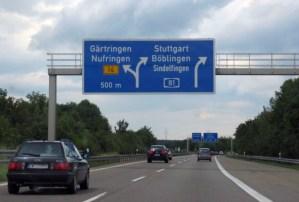 Snížení rychlosti na německých dálnicích neprošlo