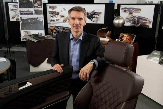 Hartmut Sinkwitz, šéfdesignér interiéru Mercedes-Benz