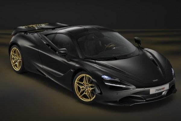McLaren 720S pro Dubaj