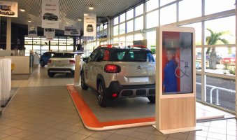 CITROEN SHOWROOM_FRANCE_Martinique_INTERIEUR