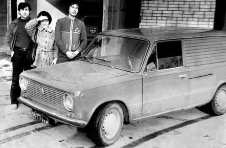 Prototyp elektromobilu VAZ-2801