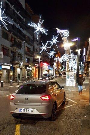 Vánoční výzdoba v Andorra la Vella