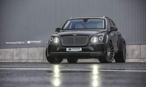 Prior Design postavili široko rozkročené Bentley Bentayga a dopřáli mu výkonovou injekci