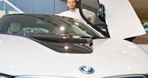 David Pastrňák - BMW i8