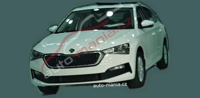 Škoda Rapid - nová generace (spy photo)