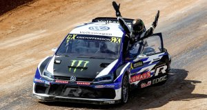 Johan Kristoffersson is the 2018 FIA World Rallycross Champion
