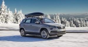 Skoda-Karoq-winter-drive