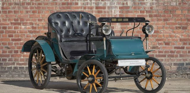 1899 Opel Patentmotorwagen System Lutzmann - Opel Classic Collection