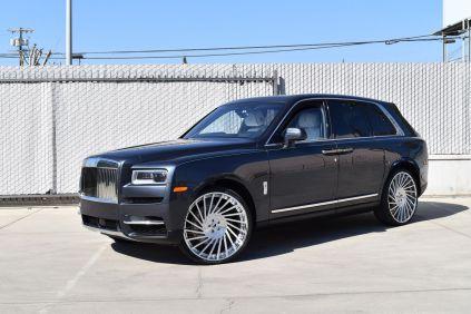Rolls-Royce Cullinan & Forgiato Ventoso-ECL (Forgiato 2.0 Series)