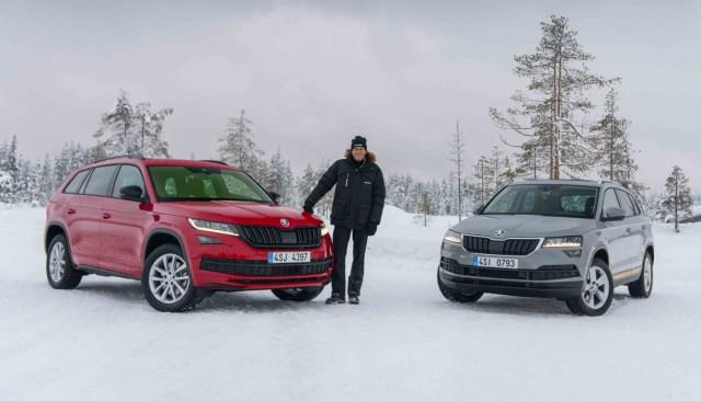 Škoda Kodiaq, Hans-Joachim Stuck a Škoda Karoq