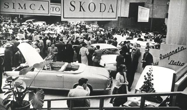 ŠKODA FELICIA v Mexico City (1960)