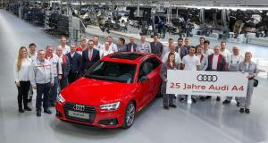 Silver jubilee: Audi A4 celebrates its 25th birthday