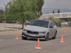škoda scala losí test