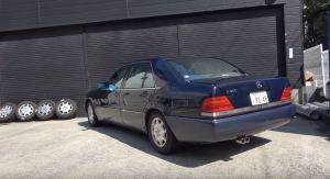 Starý Mercedes zní jako klasický monopost F1! Výfukový systém ale stál majlant