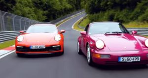 porsche-964-carrera-rs-a-porsche-992-carrera-s-nurburgring-video-nahled