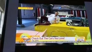 Absolutní neúcta a hloupost! Reportér v přímém přenosu zničil několik drahých aut