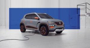 2020 - Dacia SPRING show car_