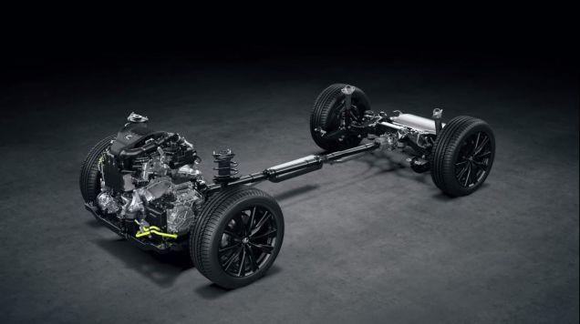 Lexus NX turbo - podvozková platforma