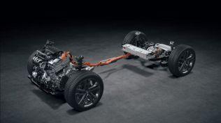 Lexus NX 350h (hybrid) - podvozková platforma