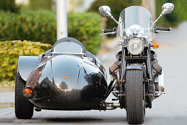 Коляска фирмы R. O. S. для Harley – Davidson