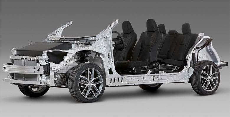 Модульная платформа автоконцерна Toyota