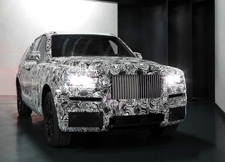 Джип Rolls-Royce Cullinan