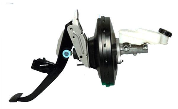 Педаль, главный тормозной цилиндр, вакуумный усилитель